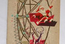 Vintage Christmas Cards / by Glee Fossier