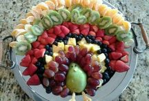 Thanksgiving fruit ideas / by Dayna Brehm