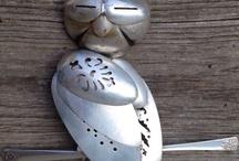 stunning silverware art