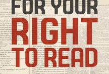 Banned Books Week 2016 / Stand up for your right to read! Read a banned book!