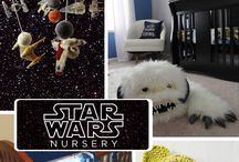 In A Galaxy Far Far Away / Star Wars Nursery
