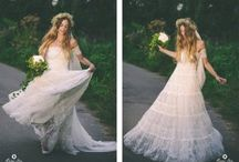 Beautiful Boho Wedding Dresses / by Susan McRae