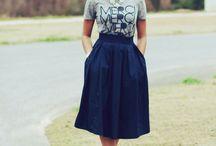 modesty; )