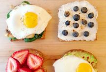 MORNING STARTERS , & EGG DISHES / BREAKFAST IDEAS,  / by Donna Casler