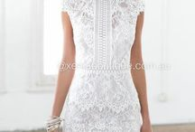 čipkovane šaty
