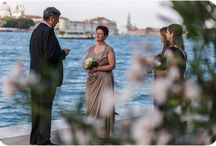 Vows Renewals / Couples renewing their love in Venice vows many years after the wedding.