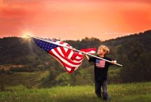 America- Patriotic- Children's Photography- Flag / fourth of july, kids, children, photography, patriotic, red, white and blue, America, 4th of July, summer, watermelon