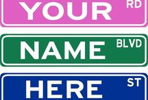 Street Signs we sell..........