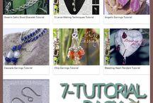 Jewellery Tutorials // Tutoriels Création de Bijoux