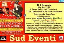 Sud Eventi Show / Sud Eventi è un'organizzazzione artistica,che vuole improntare la propria artisticità su tutto il territorio Campano e oltre  http://www.sudeventishow.it