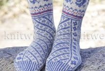 Вязание (носки,жаккарды)