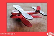 Samolot ze spinaczy / Bajdocja Kraina Zabawek poleca