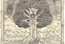 Medieval art - demons, devils etc.