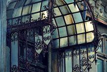 Tettoie ferro e vetro