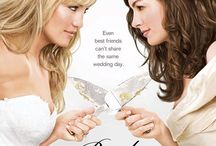 Bride Wars / Two best friends become rivals when they schedule their respective weddings on the same day.