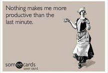 procrastinatie / by Nele @spiegelstiksels
