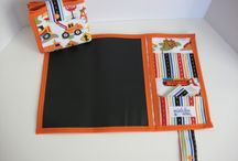 Chalkboard Fabric Projects / by Linda Rousay