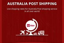 Australia Post Shipping / Configure Australia Post Shipping Extension in your online store for domestic as well as international parcels and set your own handling charges, flat rate etc. offering improved shopping experience to your customers.