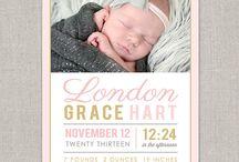 Birth Announcements / by Shaela