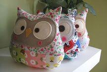 Owls / Such a cute owl!