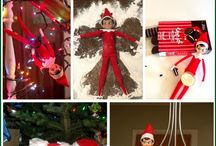 Elf on the Library Shelf / Ideas for bringing the elf to school, for mischief and giggles! / by Cari Young