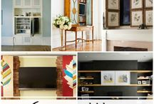 Living Room / Great ideas for a comfortable, organized living room!