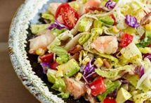 food: salad / by Leigh Lindahl
