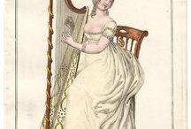 Regency Harp