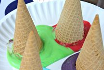 Ice Cream Cone Painting