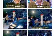 top gear ! / Jeremy,James , and Richard ! And stig of course!