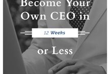 Be Your Own Boss! :)