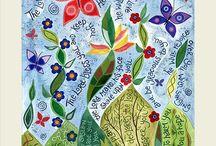 Christian Greetings Cards / Hannah Dunnett greetings cards