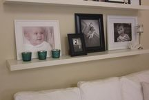 Gallery Wall - pictures, frames..