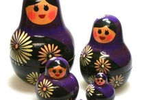 Nesting Dolls Matroyshkas / by Joann LaMorte