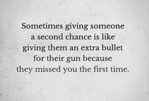 Another chance... To give or not to give