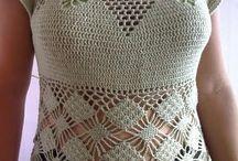 sacos tejidos a crochet