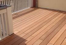 Terrassen und Balkone aus Holz-Terrassendielen / Hier sehen Sie Bilder von Holzterrassen unserer Kunden.