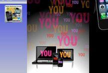Das Mobile Marketing Konzept / Die 4 wichtigsten Werbeformen im Mobiles Marketing Konzept des 21. Jahrhunderts. Ihre Visitenkarte, Ihre Produkte und Dienstleistung auf allen mobilen Geräten. Immer im Blickfeld Ihrer Kunden.