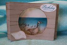 diorama cards
