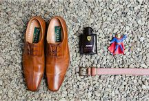 C+B: Groom Details / Details perfect an image most of the time, so why not add a few manly touches to your man's basic attire?