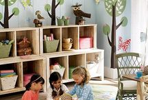 Kid's  Play Room / by Kelly Zimmer