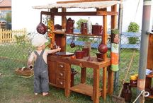 outdoor play / Outdoor play ideas for little ones