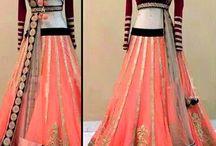 @Designer Wear Pure Net Lehenga With Velvet Blouse@ / http://www.zakasi.com/…/designer-wear-pure-net-lehenga-with…