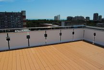 WPC DECKING ON PRIVATE TOP FLOOR