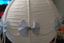 Lampara globo / Se hacen lámparas globo a mano precio 30€ se hacen envíos...todo por encargo. os encantara!!