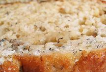 Sweet bread loafs