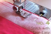 Sew easy, tips & tricks / by T B
