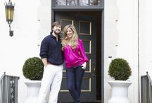 House Tour/Apartment Therapy - Cinda & Mark's House of Chic Contrasts