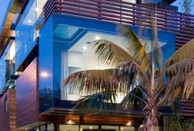 Terrace railings