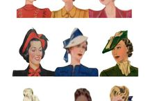 Eras for hats & hair